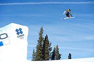 during Ski Slope Practice at 2014 X Games Aspen at Buttermilk Mountain in Aspen, CO. ©Brett Wilhelm/ESPN