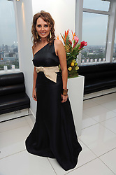 CAROL VORDERMAN at The Reuben Foundation and Virgin Unite Haiti Fundraising dinner held at Altitude 360 in Millbank Tower, London on 26th May 2010.