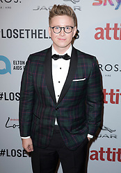Tyler Oakley attends the Attitude Pride Awards 2016 at The Grand At Trafalgar Square, central London. Monday October 10, 2016. Photo credit should read: Isabel Infantes / EMPICS Entertainment.