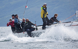 Sailing - SCOTLAND  - 26th May 2018<br /> <br /> DAY 2 Racing the Scottish Series 2018, organised by the  Clyde Cruising Club, with racing on Loch Fyne from 25th-28th May 2018<br /> <br /> GBR9292C, Samurai J, Alan Macleod/A Knowles, Cove SC / CCC, J92<br /> <br /> Credit : Marc Turner<br /> <br /> Event is supported by Helly Hansen, Luddon, Silvers Marine, Tunnocks, Hempel and Argyll & Bute Council along with Bowmore, The Botanist and The Botanist