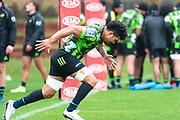 WELLINGTON, NEW ZEALAND -May 25: Ardie Savea at Hurricanes training run, May 25, 2020 in Wellington, New Zealand. Copyright Photo: Elias Rodriguez / www.photosport.nz