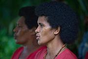 Fijian woman, Viti Levu, Fiji (Not Model Released, editorial use only)