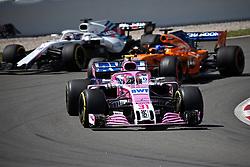 May 13, 2018 - Barcelona, Catalonia, Spain - Esteban Ocon, team Force India, during the GP Spain F1, on 13th May 2018 in Barcelona, Spain. (Credit Image: © Joan Valls/NurPhoto via ZUMA Press)