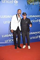 Ronnie Madra and Andrea Panconesi attending UNICEF Summer Gala 2019 in Porto Cervo,Sassari, Italy, on August 09, 2019. Photo by Sandro Giordano/ABACAPRESS.COM