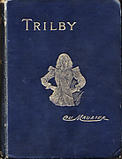 Front cover of George Du Maurier 'Trilby', London, 1894, showing with the eponymous heroine.
