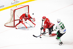 SOTJAN Nejc vs MUSIC Ales during summer Hockey League match between HK SZ Olimpija and HDD SIJ Jesenice, on September 12, 2020 in Ice Arena Bled, Bled, Slovenia. Photo by Peter Podobnik / Sportida