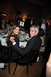 SIR STUART ROSE and JEMIMA KHAN at fundraising dinner and auction in aid of Liver Good Life a charity for people with Hepatitis held at Christies, King Street, London on 16th September 2009.