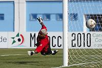 Fotball<br /> African Nations Cup - Nigeria - Sør Afrika<br /> 31. januar 2004<br /> Foto: Digitalsport<br /> Sør Afrika-keeper Emile Baron