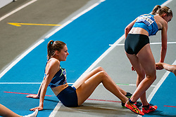 Maureen Koster in action on the 3000 meter during AA Drink Dutch Athletics Championship Indoor on 21 February 2021 in Apeldoorn.