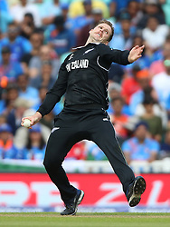New Zealand's Lockie Ferguson during the ICC Cricket World Cup Warm up match at The Oval, London.