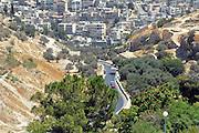 Israel, Eastern Jerusalem the Palestinian town of Isawiya