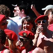 NLD/Amsterdam/20070804 - Gaypride Canalparade 2007, SBS Showboot, Jose Hoebee