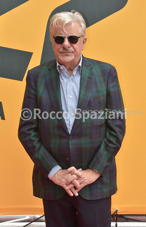 ROME, ITALY - MAY 13: Giancarlo Giannini attends 'Catch-22' Photocall, a Sky production, at The Space Moderno Cinema on May 13, 2019 in Rome, Italy.