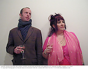 Johnnie Shand Kydd and Sue Timney/B innie. Ed Ruschha Mountains and Highways pv. Anthony d'Offay, London. 5/5/2000<br />