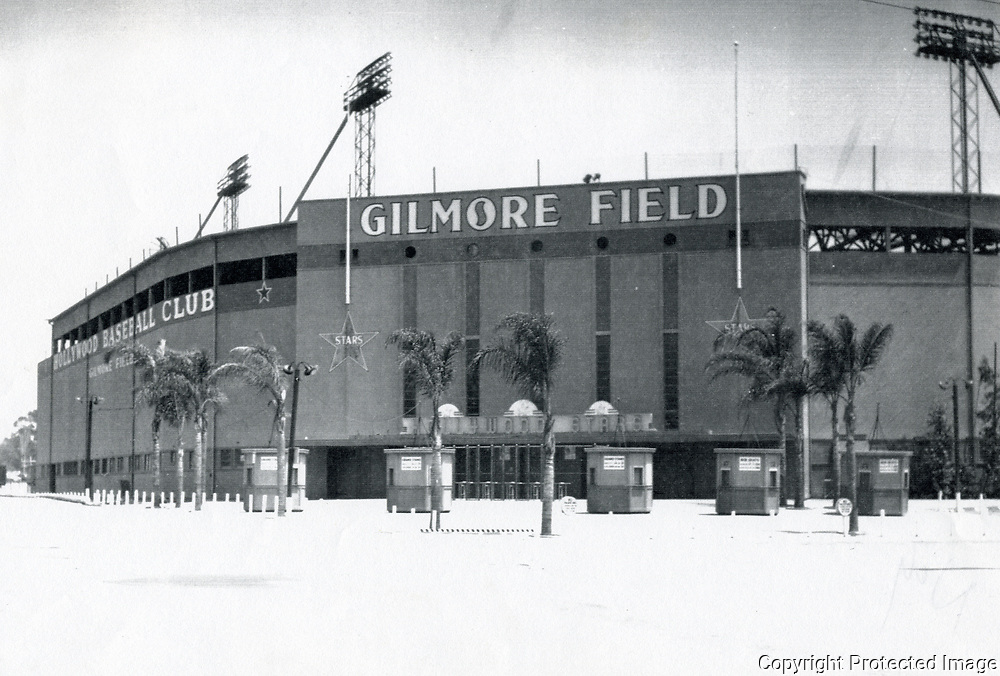 1953 Gilmore Field, home of the Hollywood Stars Baseball Team