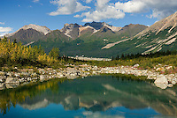 Glacial terminal ponds of the Kennecott Glacier, Wrangell-St. Elias National Park Alaska