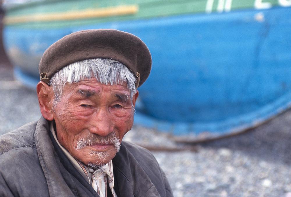 Gootynkah Gutinka, Yupik elder, Village of Sireniki, Chukotsk Peninsula, Northeast Russia