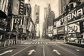 NYC Empty Streets-BW