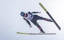 21.02.2019, Bergiselschanze, Innsbruck, AUT, FIS Weltmeisterschaften Ski Nordisch, Seefeld 2019, Nordische Kombination, Skisprung, Training, im Bild Philipp Aschenwald (AUT) // Philipp Aschenwald of Austria during a training of Ski Jumping competition for Nordic Combined of FIS Nordic Ski World Championships 2019. Bergiselschanze in Innsbruck, Austria on 2019/02/21. EXPA Pictures © 2019, PhotoCredit: EXPA/ JFK