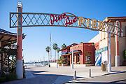 Pine Ave Pier In Long Beach
