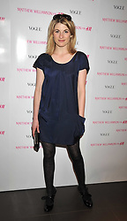 JODIE WHITTAKER at a party to celebrate the launch of the Matthew Williamson collection at H&M held at the H&M store, Regent Street, London on 22nd April 2009.