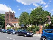 Saint Mary Elms parish church in town centre of Ipswich, Suffolk, England, UK