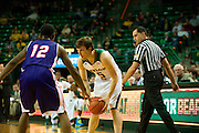 WACO, TX - DECEMBER 18: Brady Heslip #5 of the Baylor Bears brings the ball up court against the Northwestern State Demons on December 18 at the Ferrell Center in Waco, Texas.  (Photo by Cooper Neill/Getty Images) *** Local Caption *** Brady Heslip