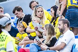 June 18, 2018 - Nizhny Novgorod, Russia - Josefine Ringblom Berg, wife of Marcus Berg..2018 FIFA World CUP, Sweden - South Korea, 1-0, Nizhny Novgorod Stadium, Russia, 2018-06-18..(c) ORRE PONTUS  / Aftonbladet / IBL BildbyrÃ¥....* * * EXPRESSEN OUT * * *....AFTONBLADET / 85527 *** Local Caption  (Credit Image: © Orre Pontus/Aftonbladet/IBL via ZUMA Wire)