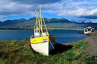 Islande, fjord de l Est, Djupivogur // Iceland, Eastfjord, Djupivogur