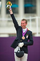 Bronze medal Hosmar Frank (NED) - Alphaville<br /> Individual Championship Test - Grade IV <br /> London 2012 Paralympic Games<br /> © Hippo Foto - Jon Stroud
