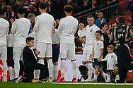 Wayne Rooney of England enters Wembley during the International Friendly match between England and USA at Wembley Stadium, London, England on 15 November 2018.