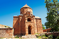 10th century Armenian Orthodox Cathedral of the Holy Cross on Akdamar Island, Lake Van Turkey 80 .<br /> <br /> If you prefer to buy from our ALAMY PHOTO LIBRARY  Collection visit : https://www.alamy.com/portfolio/paul-williams-funkystock/lakevanturkey.html<br /> <br /> Visit our TURKEY PHOTO COLLECTIONS for more photos to download or buy as wall art prints https://funkystock.photoshelter.com/gallery-collection/3f-Pictures-of-Turkey-Turkey-Photos-Images-Fotos/C0000U.hJWkZxAbg