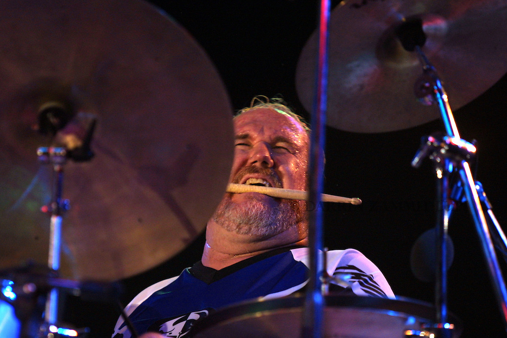 Kirk Covington (Scott Henderson Blues Band), 2001<br /> Photo by Darrin Zammit Lupi
