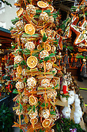 Hand crafted christmas decorations on the market stalls of Salzburg Christmas market Austria .<br /> <br /> Visit our AUSTRIA PHOTO COLLECTIONS for more photos to download or buy as wall art prints https://funkystock.photoshelter.com/gallery-collection/Pictures-Images-of-Austria-Photos-of-Austrian-Historic-Landmark-Sites/C0000VRQ9JIAzOxc