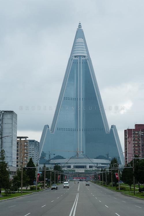Ryugyong Hotel, Pyongyang, DPRK (North Korea)