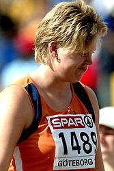 11-08-2006 ATLETIEK: EUROPEES KAMPIOENSSCHAP: GOTHENBURG <br /> Kogelstootster Denise Kemkers wist niet tot de eindstrijd door te dringen<br /> ©2006-WWW.FOTOHOOGENDOORN.NL