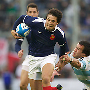 Francois Trinh-Duc, France, in action during the Argentina V France test match at Estadio Jose Amalfitani, Buenos Aires,  Argentina. 26th June 2010. Photo Tim Clayton...