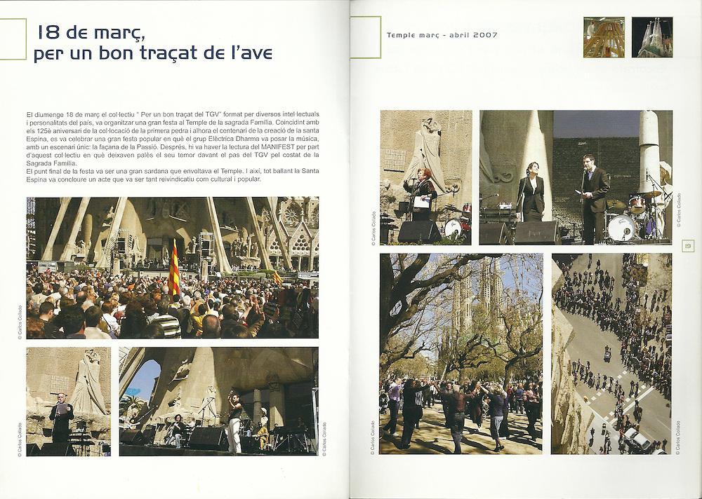 Revista Temple (Mar-Abr 2007)_ Junta Constructora del Temple de la Sagrada Familia