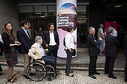 July 6, 2018 - Porto, Portugal - People take part in  Climate Change Leadership Porto 2018 in Porto, Portugal, on July 6, 2018. (Credit Image: © Rita Franca/NurPhoto via ZUMA Press)