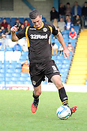 Newport County's Andrew Hughes has a run with the ball. Skybet Football League two match, Bury v Newport county at Gigg Lane in Bury on Saturday 5th Oct 2013. pic by David Richards, Andrew Orchard sports photography,