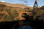 Santana do Riacho_MG, Brasil.<br /> <br /> Ponte da antiga ligacao da Serra do Cipo em Santana do Riacho, Minas Gerais. <br /> <br /> Ancient bridge in Serra do Cipo in Santana do Riacho, Minas Gerais.<br /> <br /> Foto: BRUNO MAGALHAES / NITRO