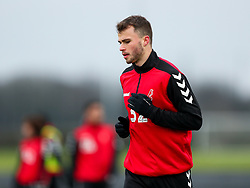 James Morton of Bristol City during a training session ahead of the FA Cup game with Portsmouth - Rogan/JMP - 07/01/2021 - Failand - Bristol, England.