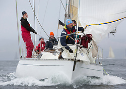 Day one of the Silvers Marine Scottish Series 2015, the largest sailing event in Scotland organised by the  Clyde Cruising Club<br /> Racing on Loch Fyne from 22rd-24th May 2015<br /> <br /> GBR4197, Mahuri, Jim Millar, Coleraine YC, UFO 34<br /> <br /> <br /> Credit : Marc Turner / CCC<br /> For further information contact<br /> Iain Hurrel<br /> Mobile : 07766 116451<br /> Email : info@marine.blast.com<br /> <br /> For a full list of Silvers Marine Scottish Series sponsors visit http://www.clyde.org/scottish-series/sponsors/
