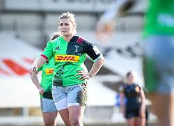 Rachael Burford of Harlequins - Mandatory by-line: Andy Watts/JMP - 06/02/2021 - Sandy Park - Exeter, England - Exeter Chiefs Women v Harlequins Women - Allianz Premier 15s