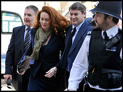Rebekah and her husband Charlie Brooks arrive at Westminster Magistrates Court, Wednesday  June 13, 2012.Photo by Andrew Parsons/i-Images..All Rights Reserved ©Andrew Parsons/i-Images .See Special Instructions