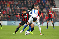 Football - 2018 / 2019 FA Cup - Third Round: AFC Bournemouth vs. Brighton & Hove Albion<br /> <br /> Leon Balogun of Brighton slips whilst under pressure from Bournemouth's Lys Mousset at the Vitality Stadium (Dean Court) Bournemouth <br /> <br /> COLORSPORT/SHAUN BOGGUST