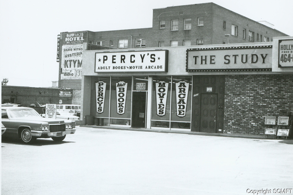 1975 Percy's Adult Bookstore and Theater on Western Ave.