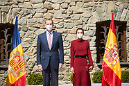 Spanish Royals visit Andorra