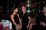 BELLA WRIGHT; ADEE PHELAN, launch of Adee Phelan's Fabulous Haircare Range, Frankie's Italian Bar and Grill, 3 Yeomans Row, off Brompton Road, London SW3, 7pm *** Local Caption *** -DO NOT ARCHIVE-© Copyright Photograph by Dafydd Jones. 248 Clapham Rd. London SW9 0PZ. Tel 0207 820 0771. www.dafjones.com.<br /> BELLA WRIGHT; ADEE PHELAN, launch of Adee Phelan's Fabulous Haircare Range, Frankie's Italian Bar and Grill, 3 Yeomans Row, off Brompton Road, London SW3, 7pm