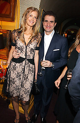GIOVANNI and LIBBY MAROLDA at a dinner hosted by Stratis & Maria Hatzistefanis at Annabel's, Berkeley Square, London on 24th March 2006 following the christening of their son earlier in the day.<br /><br />NON EXCLUSIVE - WORLD RIGHTS